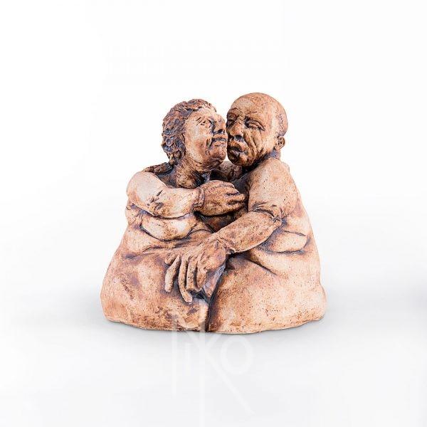 Big Love Sculpture by Niko Yulis