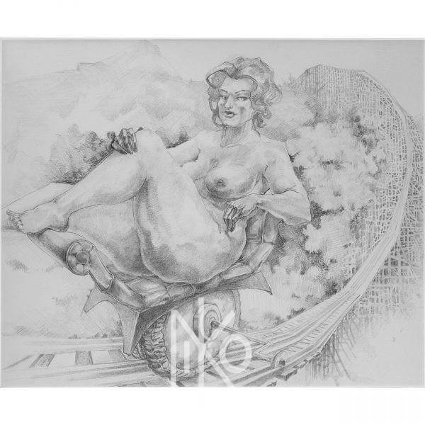 Drawing by Niko Yulis