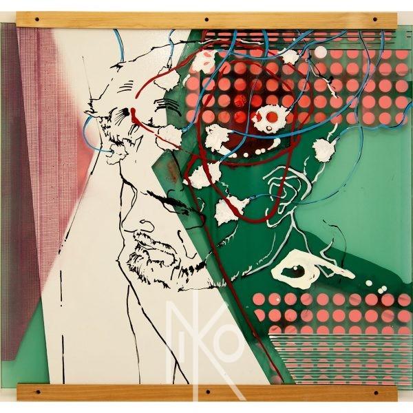 Electroencephalogram Painting by Niko Yulis
