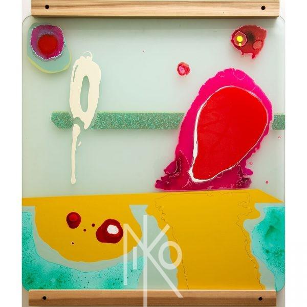 Micro Slide #4 Painting by Niko Yulis